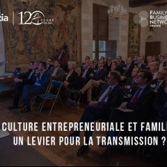 Résultats du 1er Observatoire de l'Entrepreneuriat Familial
