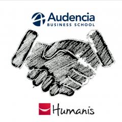 Partenariat entre Audencia et le groupe Humanis