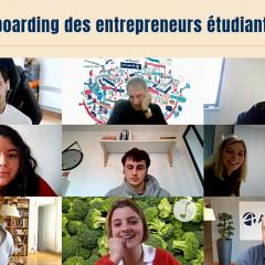 Top départ pour les entrepreneurs étudiants en stage !