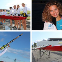 Une étudiante Audencia Bachelors  au Championnat d'Europe universitaire d'aviron