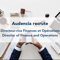 Audencia recrute un-e Directeur-rice Finances et Opérations