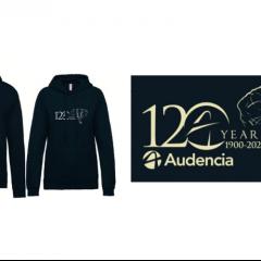L'association étudiante La Boutique lance un sweat Audencia spécial 120 ans
