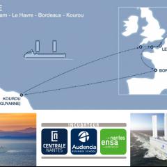 Zephyr et Borée, startup de l'incubateur Centrale-Audencia-ensa, remporte l'appel d'offre d'ArianeGroup pour assurer le transport maritime du nouveau lanceur Ariane 6 !
