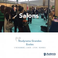 Salons Studyrama Grandes Ecoles du 5 Novembre