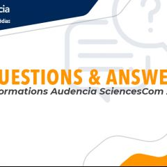 Q&A - Informations Audencia SciencesCom 2020