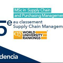 QS Rankings 2021 : Le MSCPM mis à l'honneur