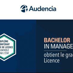 Audencia Bachelor in Management obtient le grade de Licence