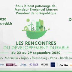 Les Rencontres du Développement Durable - Conduire une transition juste