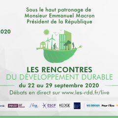 Audencia co-organise les Rencontres du Développement Durable
