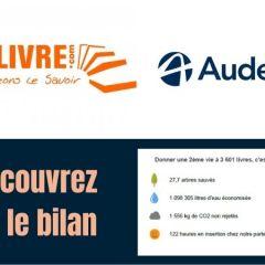 Découvrez le bilan RecycLivre x Audencia !