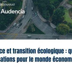 Evénement WWF & Audencia : Relance et transition écologique