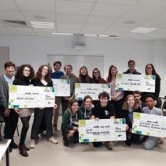 La Fondation Auchan pour la jeunesse récompense Enactus
