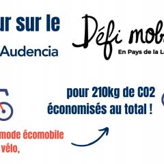 Retour sur la participation d'Audencia au Défi Mobilité 2020