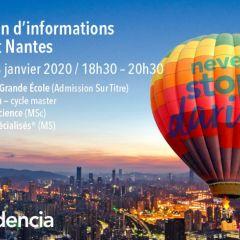 Audencia présente ses programmes aux étudiants Bac +3 / 4 / 5