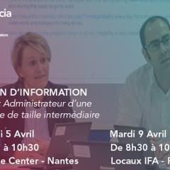 Réunion d'information - Certificat IFA Administrateur