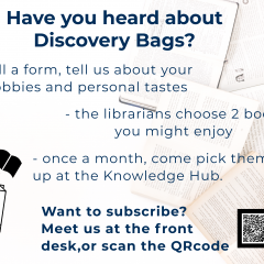 Discovery bag, new session!