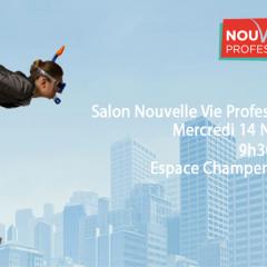 Audencia participe au salon Nouvelle Vie Professionnelle !