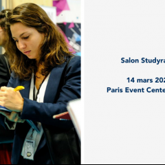 Salon Studyrama des Masters, MS et MBA / Paris