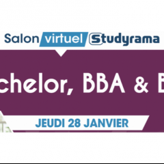 Salon virtuel Studyrama - Bachelors / BBA / BUT