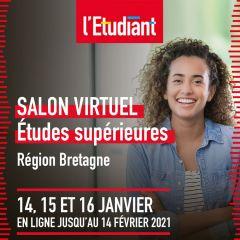 Salon virtuel L'Etudiant - Bretagne
