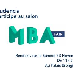 Audencia participe à la 10e édition du MBA FAIR !