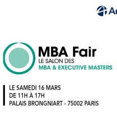 Audencia participe au salon MBA FAIR !