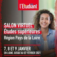 SALON VIRTUEL L'ETUDIANT - PAYS DE LA LOIRE