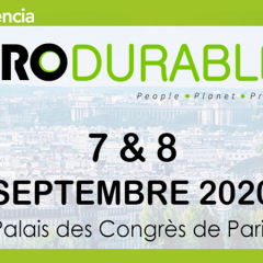 AUDENCIA PARTICIPE AU SALON PRODURABLE