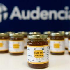 Les pots de miel Audencia sont arrivés !