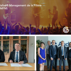 Signature de la convention Audencia / Campus M