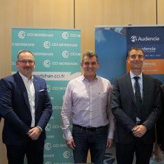 Audencia et CCI du Morbihan : un partenariat exclusif  pour la valorisation des compétences du territoire