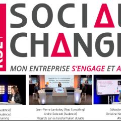 Audencia était présente à la 3ème édition de Social Change