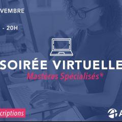 SOIRÉE D'INFORMATION VIRTUELLE SUR LES PROGRAMMES MS®