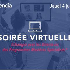 Soirée virtuelle : Echangez avec les directeurs des MS®