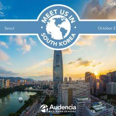 Meet us in South Korea