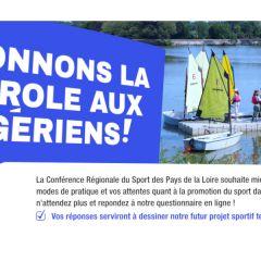 Enquête sur la participation sportive en Pays de la Loire
