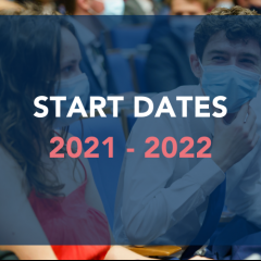 Audencia Start Dates for 2021-2022