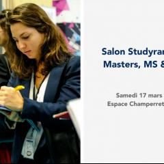Salon Studyrama des Masters, MS & MBA
