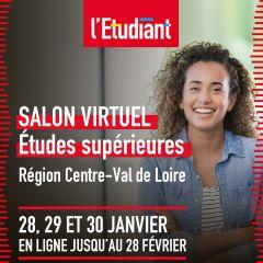 Salon virtuel L'Etudiant - CENTRE VAL DE LOIRE