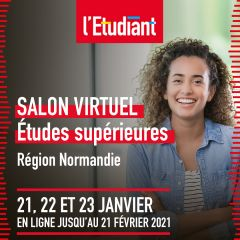 Salon virtuel L'Etudiant - NORMANDIE
