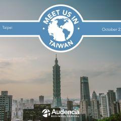 Meet us in Taiwan