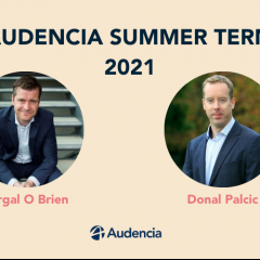 Audencia Summer Term, 2021 is coming to an end