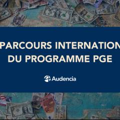 Parcours International du programme PGE : découvrez les destinations possibles