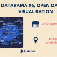 Nantes Digital Week : Datarama #6, Open data et visualisation