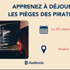 Nantes Digital Week : Apprenez à déjouer les pièges des pirates !