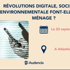Nantes Digital Week : Révolutions digitale, sociétale, environnementale font-elles bon ménage ?