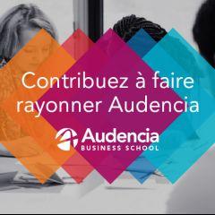 Contribuez à faire rayonner Audencia !