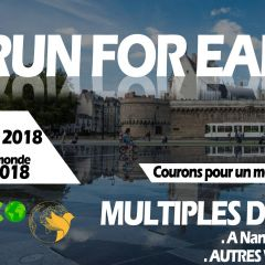 Together for Earth & Run Eco Team organisent une course
