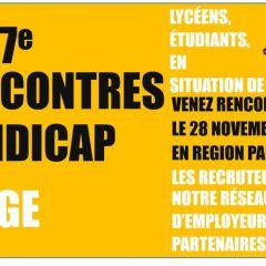 STAGES : Les 7e Rencontres Handicap Étudiants/Entreprises