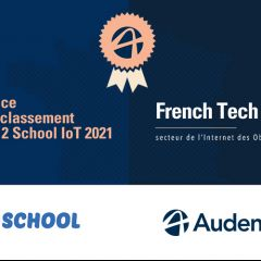 Audencia, 2e du Classement Up 2 School des écoles les plus représentées au sein des entreprises du FT120, spécialisées dans l'IoT